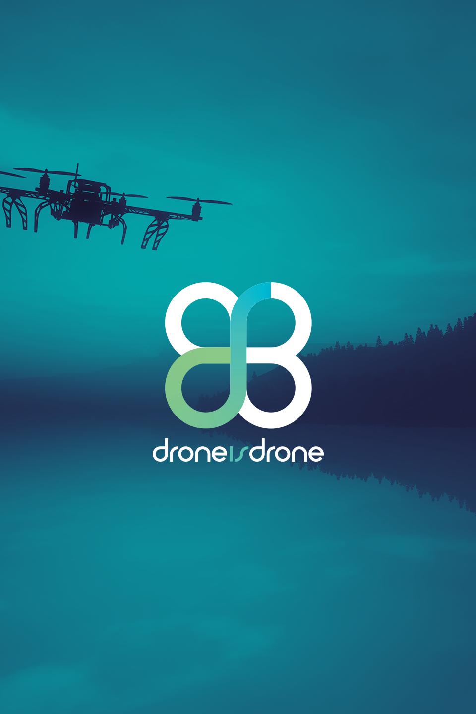 Foto Principal del Proyecto Logo drone is drone
