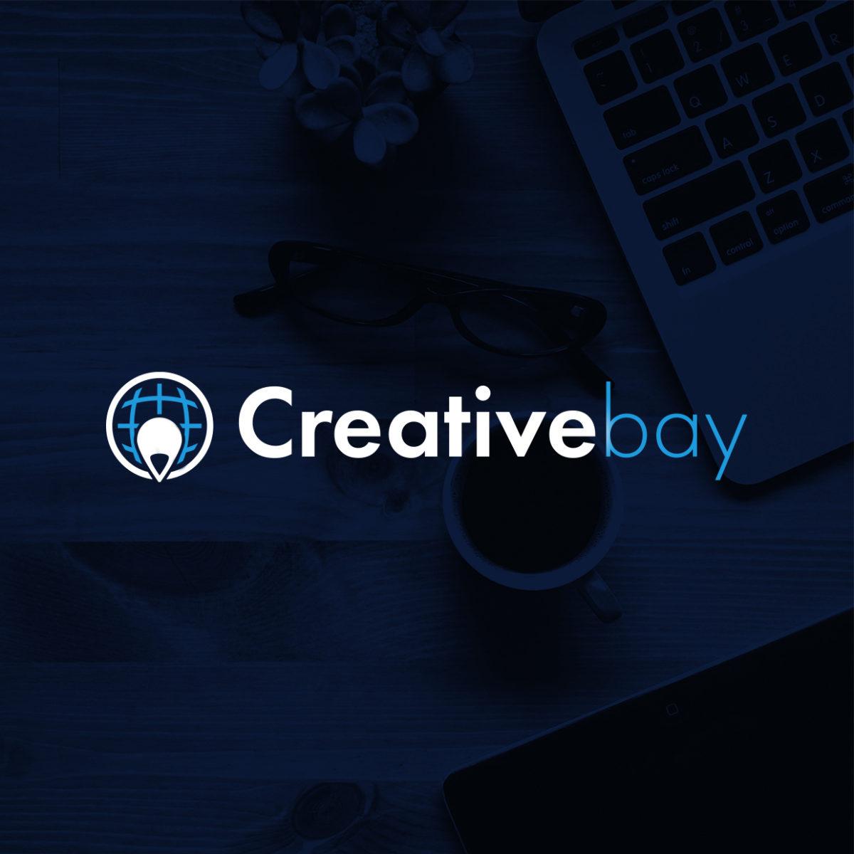 Logo Creativebay proyecto diseño