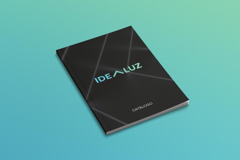 Diseño portada catálogo idealuz