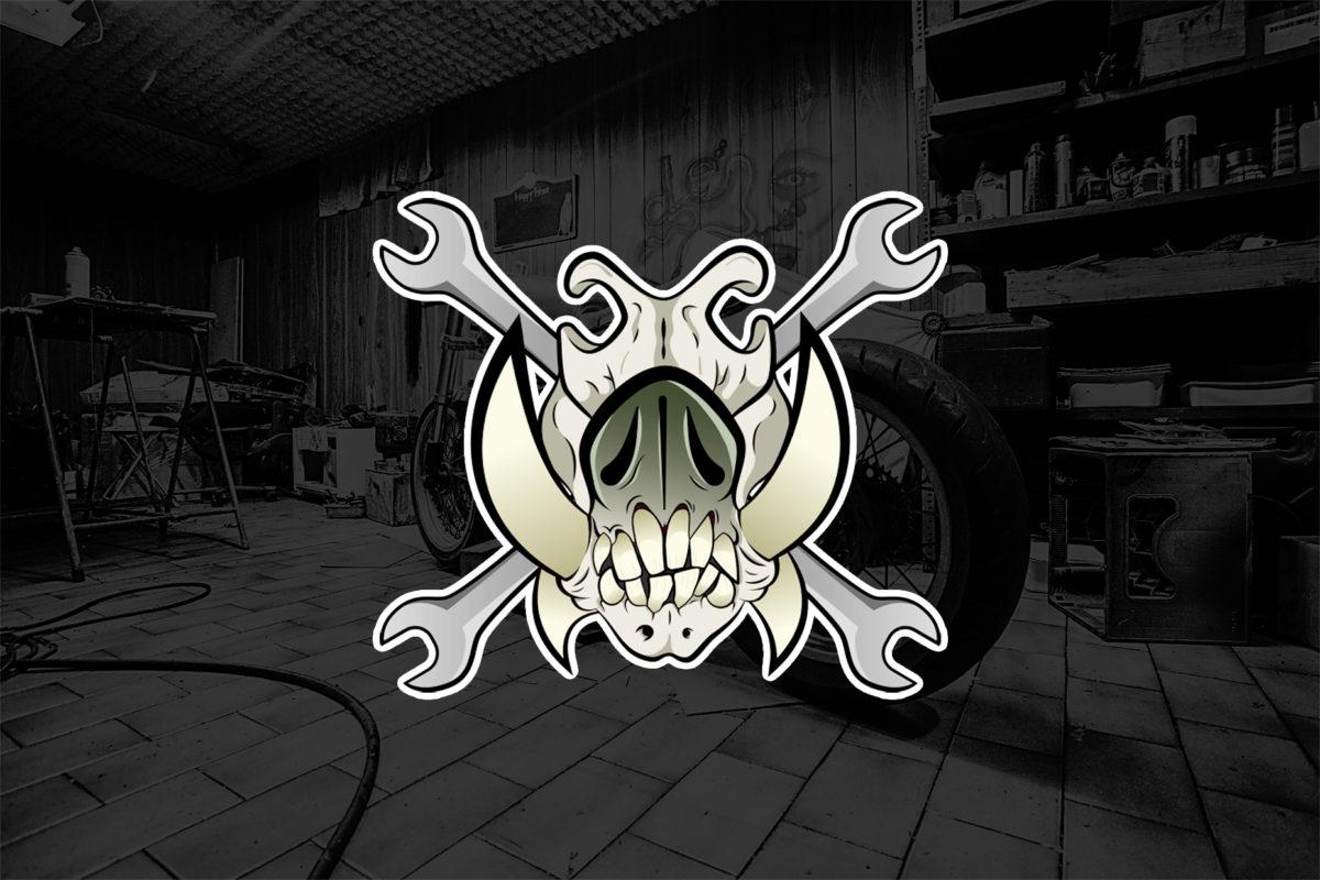 ilustración guarros garage diseño