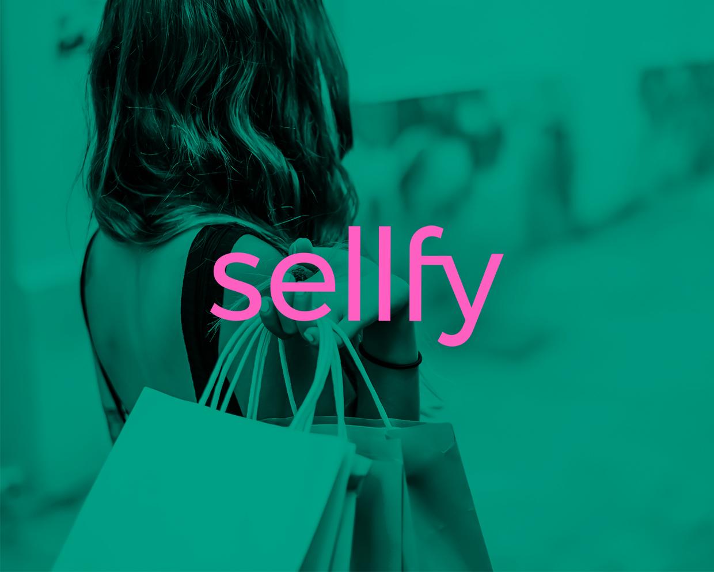 Diseño logo principal sellfy
