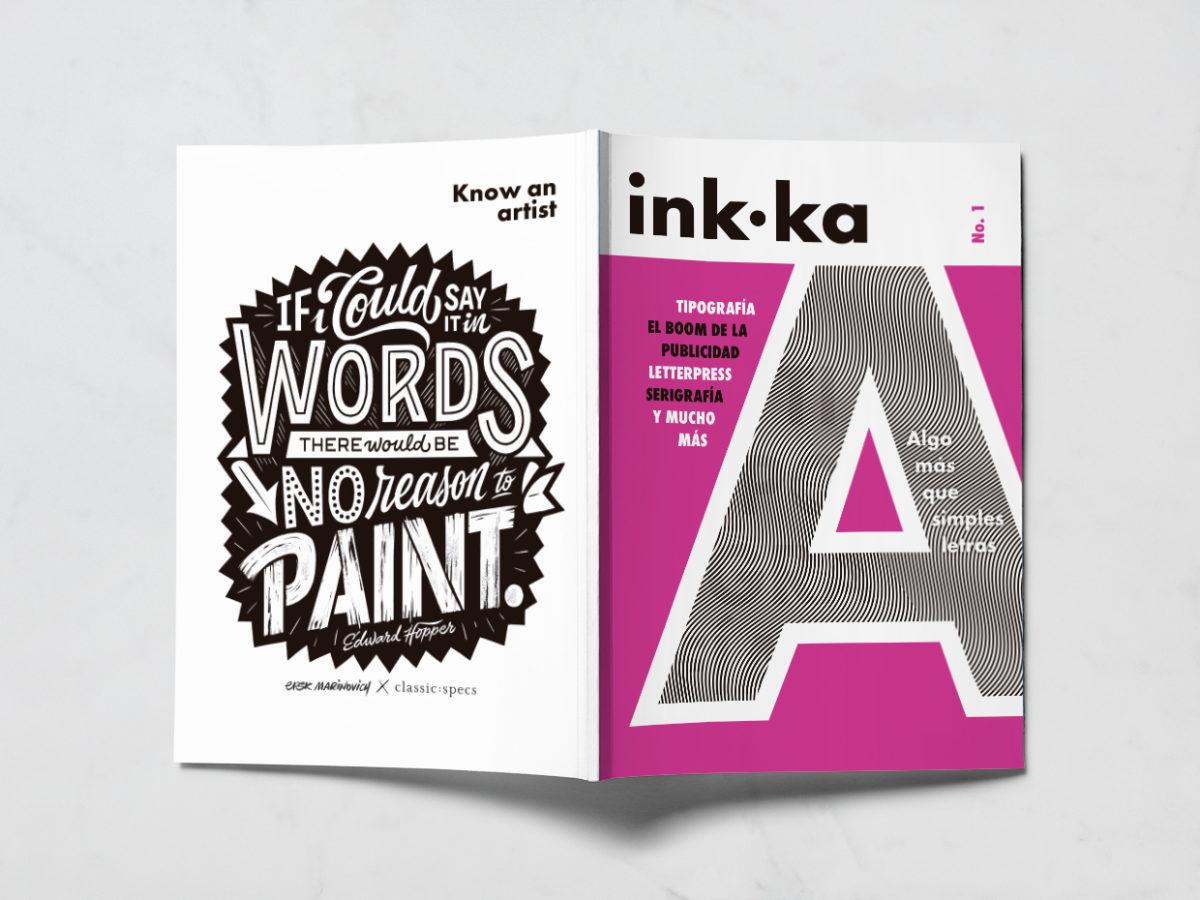 Diseño portada revista inkka