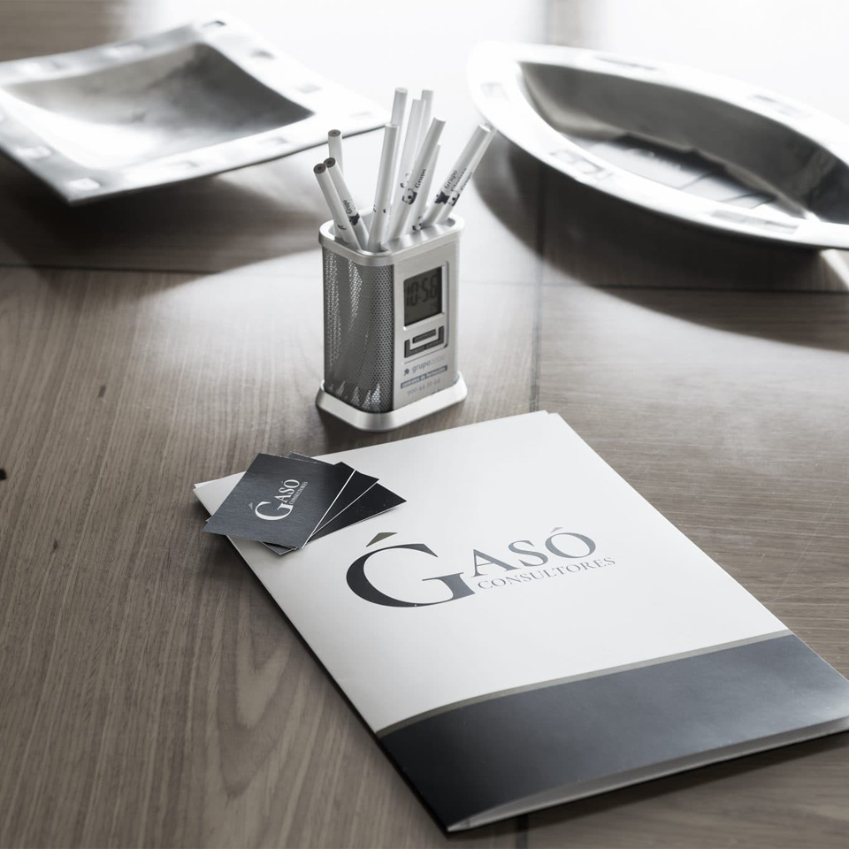 diseño gráfico logo principal gaso consultores